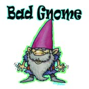 TS BAD GNOME with text
