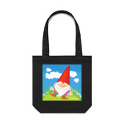 GNOME ON GRASS-Canvas Bag