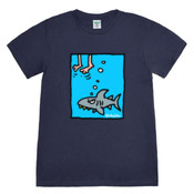 SHARK FEET-small design-MENS